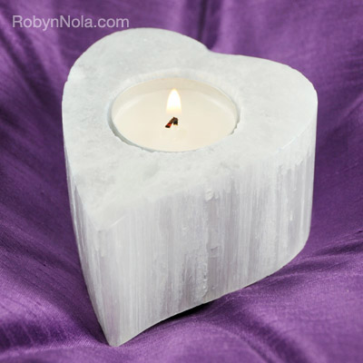 selenite-heart-candle-holder