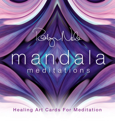 Mandala Meditation Art Cards by Robyn Nola
