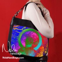 rainbow-buddha-hobo handbag
