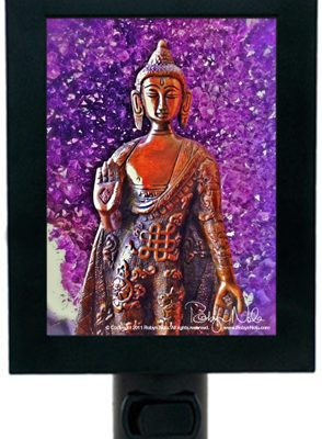 Amethyst-Buddha-meditation-Nightlight