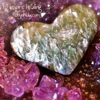 Seraphinite Heart: Inspirational Heart Gifts