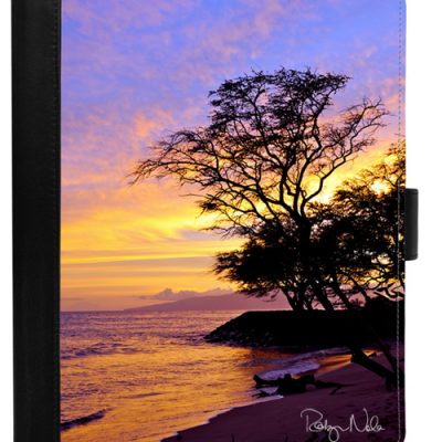 artistic leather iPad Case