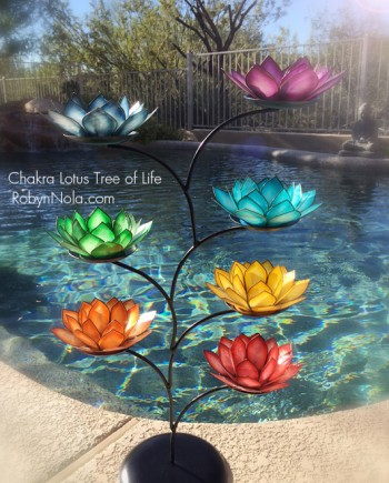 Chakra Lotus Tree of Life-Inspirational Lotus Gifts