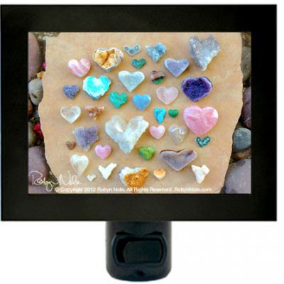 Gemstone Hearts by Robyn Nola