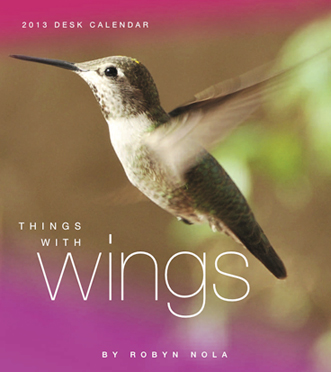 Hummingbird Dragonfly Butterfly Calendar for 2013