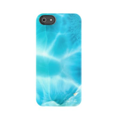 Larimar iPhone Case by Robyn Nola