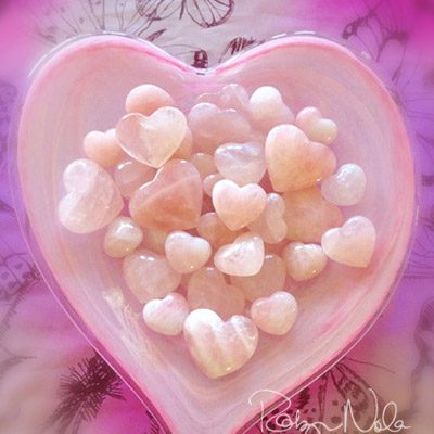 Rose Quartz Hearts: Gifts of Love, RobynNola.com