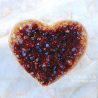 Beautiful Citrine Gemstone Heart