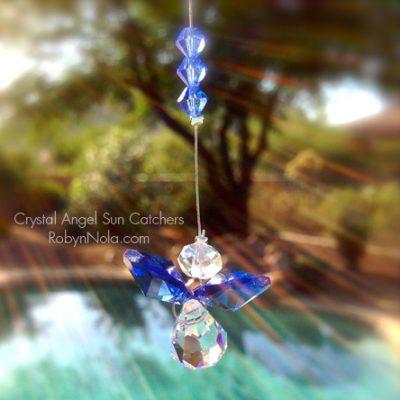 Crystal Angel Sun Catchers