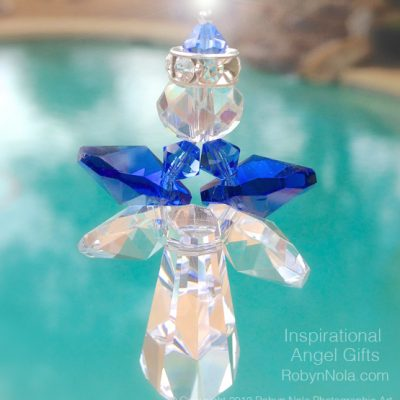 Archangel Michael Crystal Suncatcher