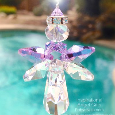Beautiful Angel Gifts-Crystal Angel Suncatcher