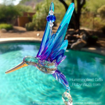Beautiful Hummingbird Suncatcher