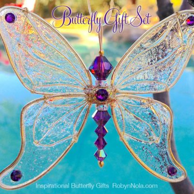 Beautiful Butterfly Gift Set