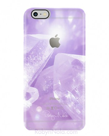 Crystals iPhone 6 plus case by Robyn Nola