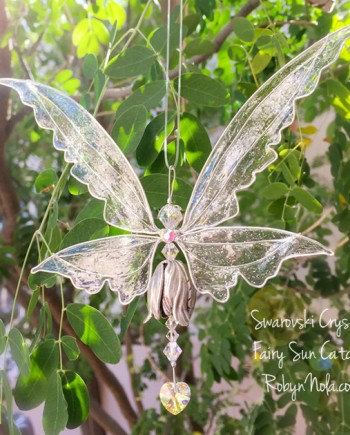Beautiful Fairy Suncatcher