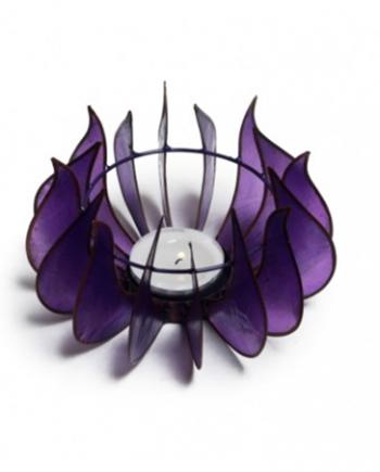 Awakening Lotus Flower Candleholder