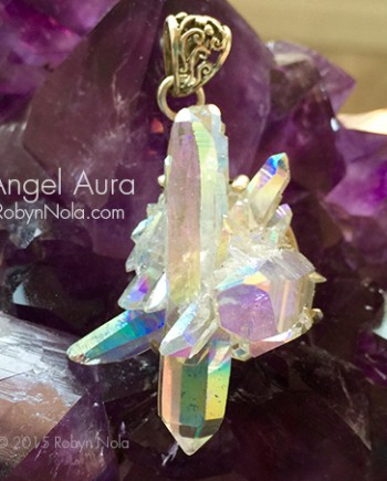 Beautiful Angel Aura Pendant