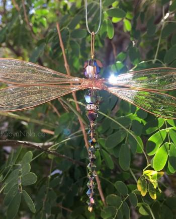 Beautiful Swarovski Crystal Dragonfly