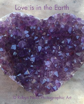 Beautiful Amethyst Crystal Heart