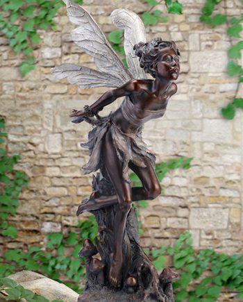 Beautiful Fairy Garden Statue-Garden Art